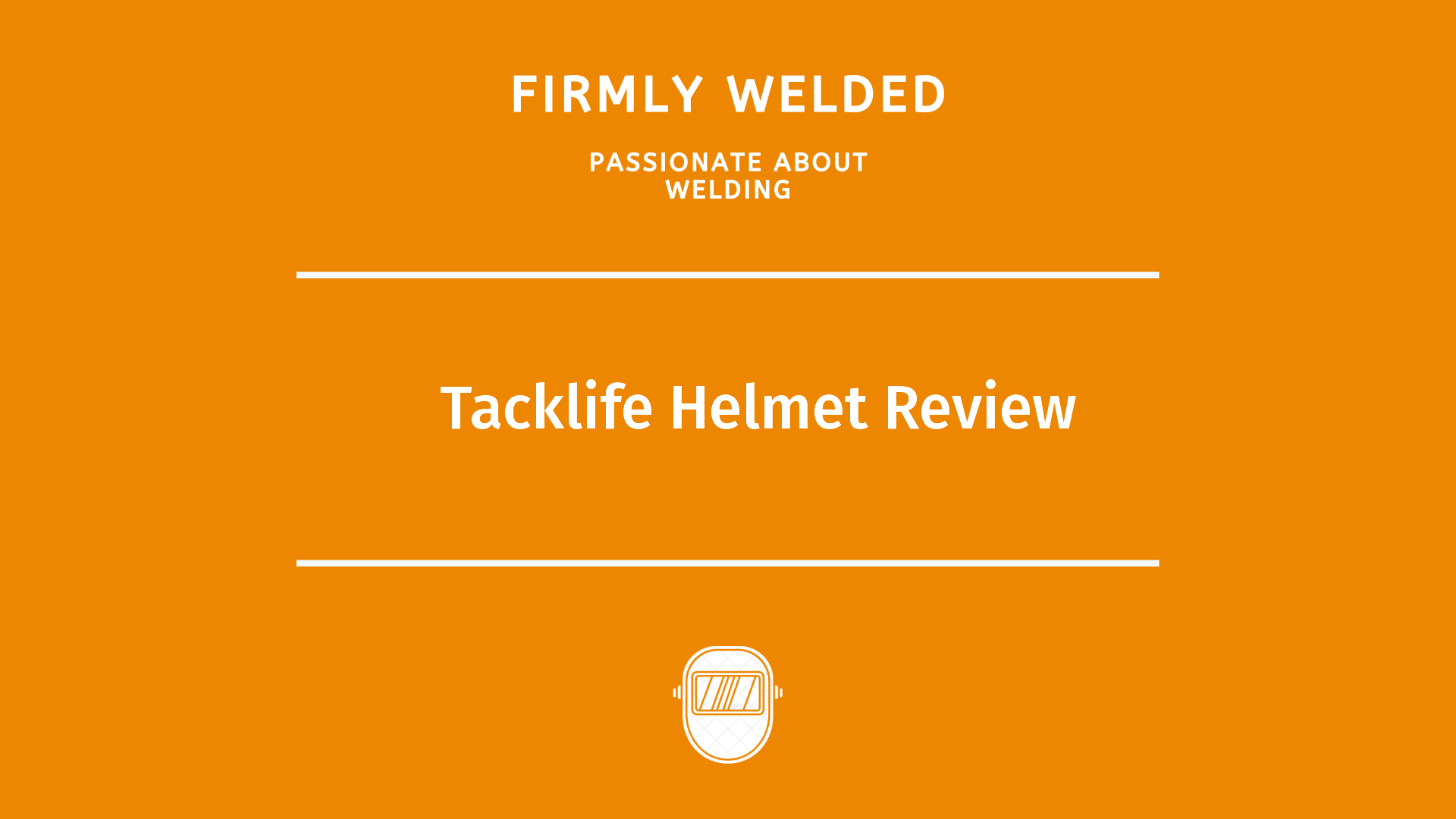 Tacklife Helmet Review